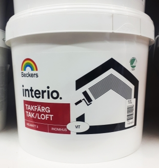 Beckerplast-3 / Interio Vaggfarg 3 краска