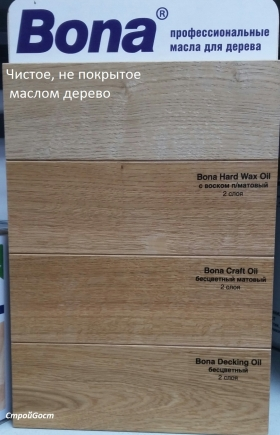 Bona Hard Wax Oil масло с воском (2,5л; 1л)
