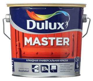 Dulux Master эмаль универсальная (10л; 2,5л; 0,9л)