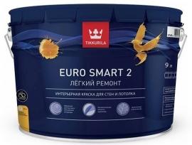 Euro 2 латексная краска (9л;2,7л)