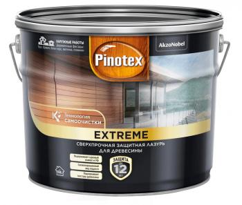 Pinotex Extreme Лазурь сверхпрочная (9л; 2,5л 0,9л)