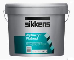 Sikkens Alphacryl Plafond краска глубоко матовая