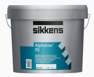 Sikkens Alphatex IQ Полуматовая/матовая краска (10л, 5л, 1л)