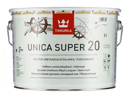 Tikkurila Уника Супер лак полу-матовый (9л;2,7л;0,9л)