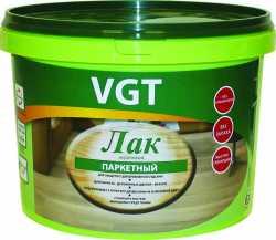 VGT лак акриловый паркетный (9кг;2,2кг)