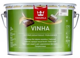 Tikkurila Vinha кроющий антисептик (краска) (9л; 2,7л; 0,9л)