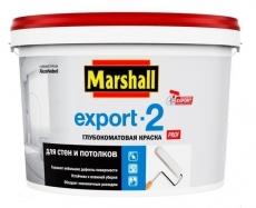 Export-2 глубоко-матовая краска (10л;2,5л)