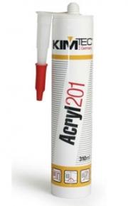Герметик акриловый KIM TEC Acryl 201 (310 мл белый)