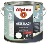 Alpina «Weisslack» эмаль для дерева и металла