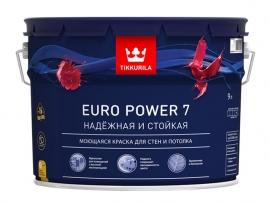Euro Power 7 моющаяся краска / 9л