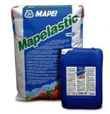 Mapei «MAPELASTIC»  двухкомпонентная гидроизоляция (компонент А: 24 кг, компонент Б: 8 кг).