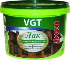 VGT Лак акриловый для внутренних и наружных работ глян. (9кг;2.2кг)