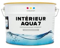 Vincent I-7 влагостойкая, моющаяся краска (9л;2,7л;0,8л)