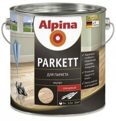 Alpina Parkett лак для паркета глянцевый (5л;0,75л)