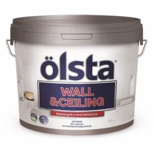 OLSTA WALL & CEILING Краска для стен и потолков