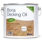 Bona Deck Oil атмосферостойкое масло полуматовое/ 10л; 2,5л