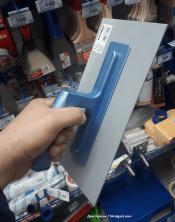 Color Expert пластиковая кельма 280*140мм