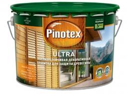 Pinotex Ultra антисептик усиленный (9л; 2,7л; 1л)